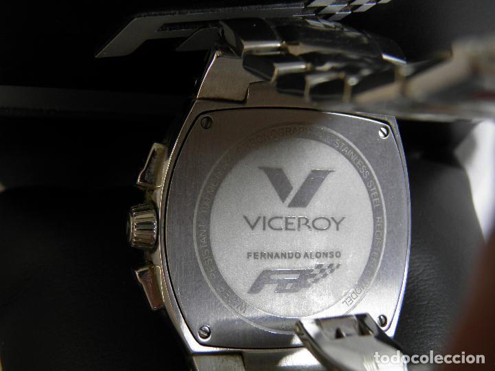 Relojes - Viceroy: RELOJ VICEROY CHRONOGRAPH,FERNANDO ALONSO,CAJA ORIGINAL - Foto 4 - 96160127