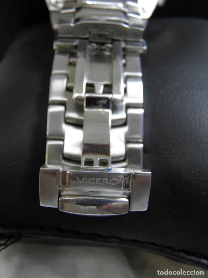 Relojes - Viceroy: RELOJ VICEROY CHRONOGRAPH,FERNANDO ALONSO,CAJA ORIGINAL - Foto 6 - 96160127