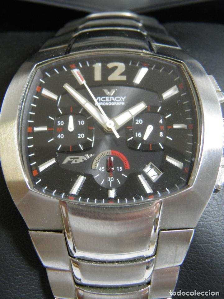 Relojes - Viceroy: RELOJ VICEROY CHRONOGRAPH,FERNANDO ALONSO,CAJA ORIGINAL - Foto 8 - 96160127