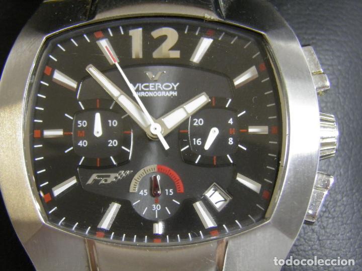 Relojes - Viceroy: RELOJ VICEROY CHRONOGRAPH,FERNANDO ALONSO,CAJA ORIGINAL - Foto 9 - 96160127