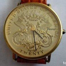 Relojes - Viceroy: RELOJ DE PULSERA VICEROY, UNITED STATES OF AMERICA - TWENTY, NECESITA PILA, CORREA NUEVA. Lote 103870611