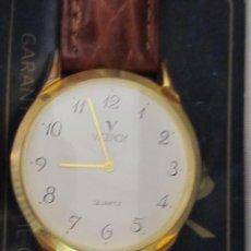Relojes - Viceroy: RELOJ Y CAJA VICEROY ORIGINAL CHAPADO EN ORO QUARZ. Lote 104269599