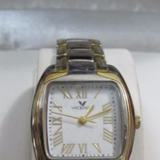 Relojes - Viceroy: RELOJ VICEROY DE CUARZO, CHAPADO EN ORO - CON ESTUCHE. Lote 106936451