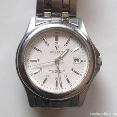Relojes - Viceroy: RELOJ VICEROY CALENDARIO CUARZO, COMO NUEVO FUNCIONA. MED. 37 MM SIN CONTAR CORONA. Lote 108032911