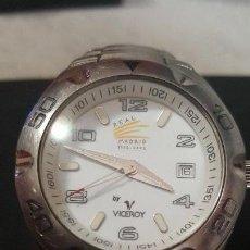 Relojes - Viceroy: RELOJ VICEROY OFICIAL DEL CLUB DEL REAL MADRID CUARZO CALENDARIO WUATER RESISTEN FUNCIONA PERFECTAM. Lote 108907863