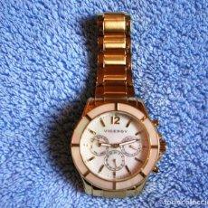 Relojes - Viceroy: RELOJ VICEROY ACERO DORADO SEÑORA. COLECCIÓN FEMME. BISEL Y ESFERA DE NACAR (NUEVO).. Lote 111973875