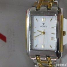 Relojes - Viceroy: RELOJ VICEROY CHAPADO EN ORO, DE CUARZO - CON ESTUCHE. Lote 112435883