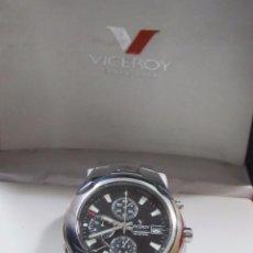 Relojes - Viceroy: RELOJ CRONÓGRAFO VICEROY, CON ALARMA Y CALENDARIO - EN SU ESTUCHE. Lote 113171935