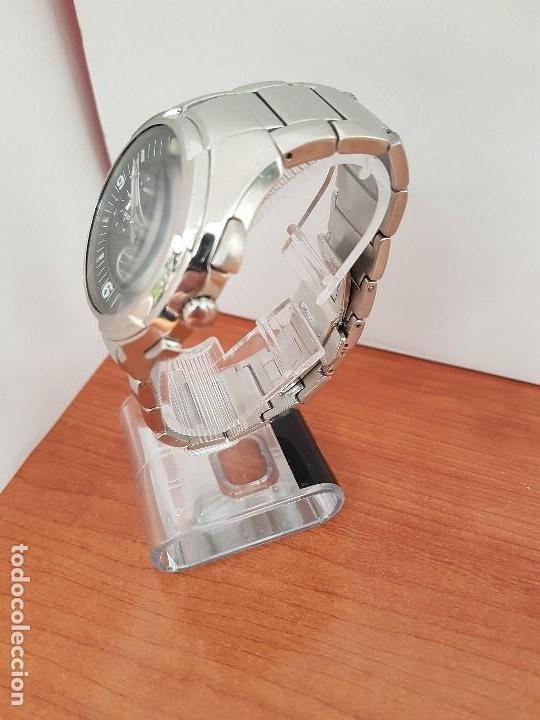 Relojes - Viceroy: Reloj caballero de acero Viceroy cronografo con calendario entre las cuatro y cinco, correa acero - Foto 3 - 142080888