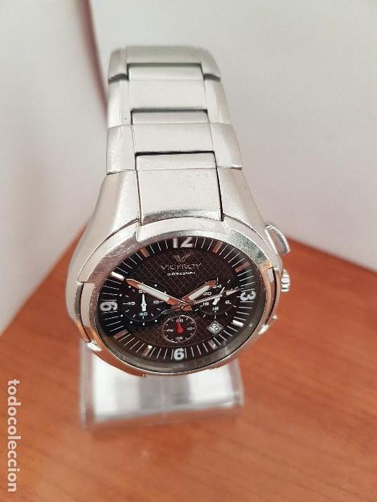 Relojes - Viceroy: Reloj caballero de acero Viceroy cronografo con calendario entre las cuatro y cinco, correa acero - Foto 7 - 142080888