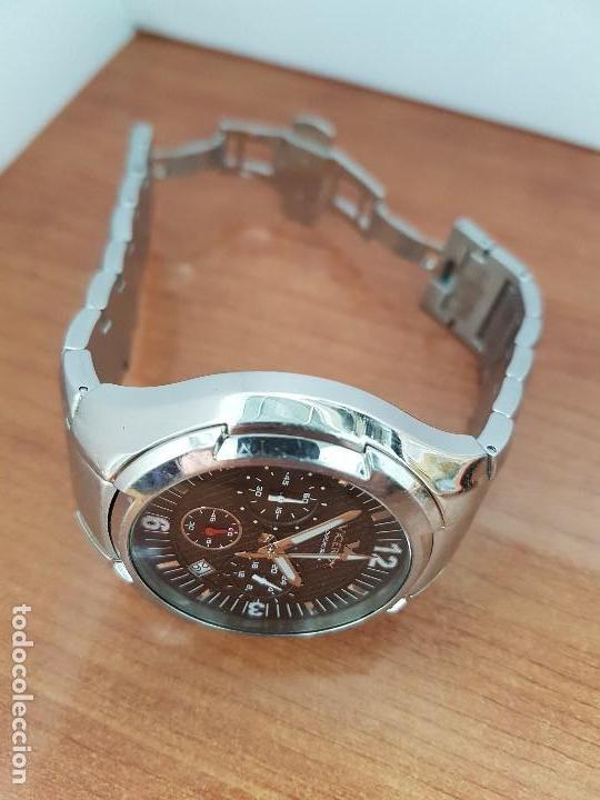 Relojes - Viceroy: Reloj caballero de acero Viceroy cronografo con calendario entre las cuatro y cinco, correa acero - Foto 8 - 142080888