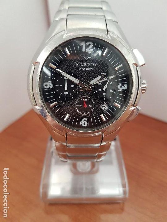 Relojes - Viceroy: Reloj caballero de acero Viceroy cronografo con calendario entre las cuatro y cinco, correa acero - Foto 9 - 142080888