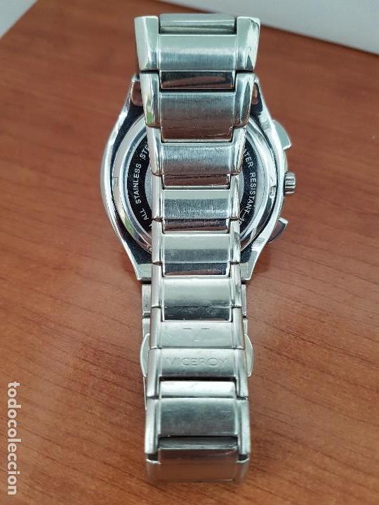 Relojes - Viceroy: Reloj caballero de acero Viceroy cronografo con calendario entre las cuatro y cinco, correa acero - Foto 11 - 142080888