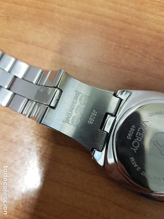 Relojes - Viceroy: Reloj caballero cuarzo Viceroy con calendario a las seis horas, correa de acero original Viceroy - Foto 16 - 114389319