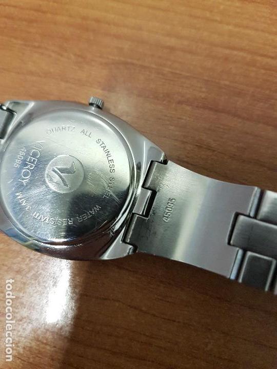 Relojes - Viceroy: Reloj caballero cuarzo Viceroy con calendario a las seis horas, correa de acero original Viceroy - Foto 17 - 114389319