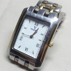 Relojes - Viceroy: RELOJ VICEROY DE CUARZO, CON DETALLES CHAPADOS EN ORO. Lote 115071899