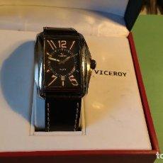 Relojes - Viceroy: RELOJ VICEROY ,CABALLERO ,CORREA CUERO,. Lote 116074215