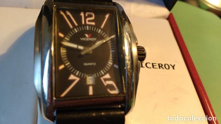 Relojes - Viceroy: Reloj VICEROY ,caballero ,correa cuero, - Foto 2 - 116074215