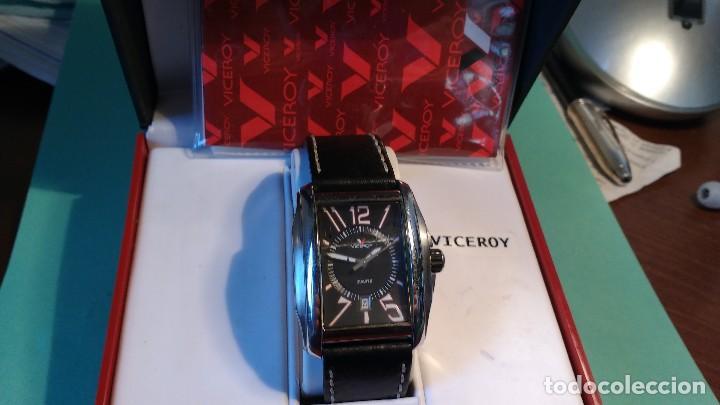 Relojes - Viceroy: Reloj VICEROY ,caballero ,correa cuero, - Foto 3 - 116074215
