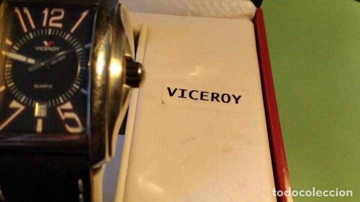Relojes - Viceroy: Reloj VICEROY ,caballero ,correa cuero, - Foto 6 - 116074215