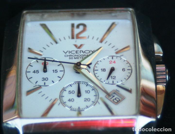 VICEROY 47411 SPECIAL COLLECTION SUMERGIBLE A 50 METROS DE FINALES DE 2014 LEER MAS (Relojes - Relojes Actuales - Viceroy)