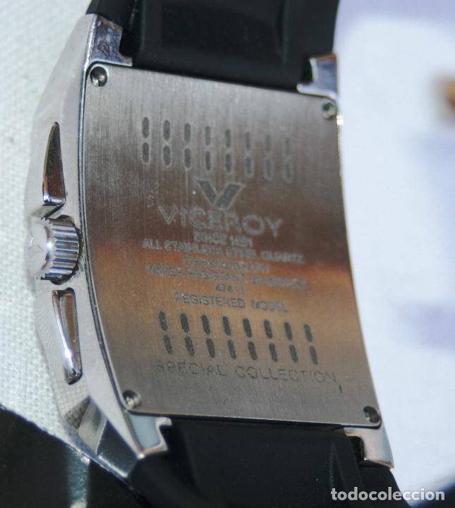 Relojes - Viceroy: VICEROY 47411 SPECIAL COLLECTION SUMERGIBLE A 50 METROS DE FINALES DE 2014 LEER MAS - Foto 23 - 118357779
