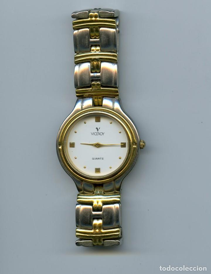 RELOJ VICEROY DE CABALLERO, ACERO, REF 43951 (Relojes - Relojes Actuales - Viceroy)