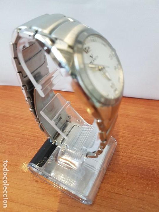 Relojes - Viceroy: Reloj caballero cuarzo Viceroy de acero con calendario a las cuatro, correa original de acero - Foto 7 - 122947887