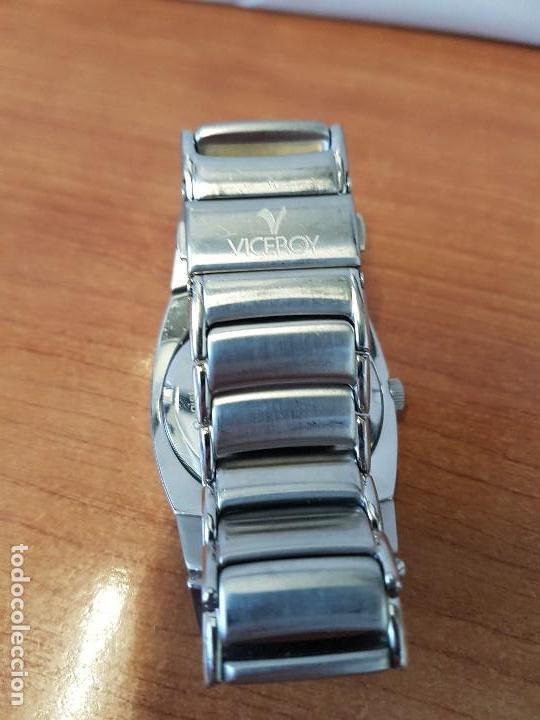 Relojes - Viceroy: Reloj caballero cuarzo Viceroy de acero con calendario a las cuatro, correa original de acero - Foto 10 - 122947887