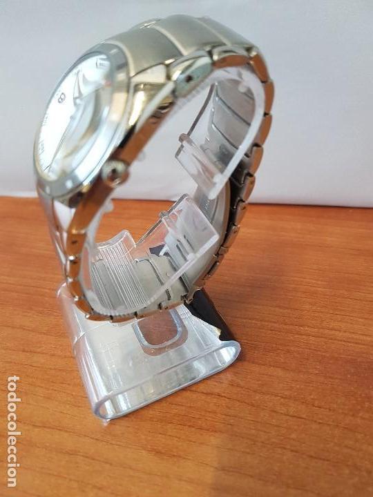 Relojes - Viceroy: Reloj caballero cuarzo Viceroy de acero con calendario a las cuatro, correa original de acero - Foto 12 - 122947887