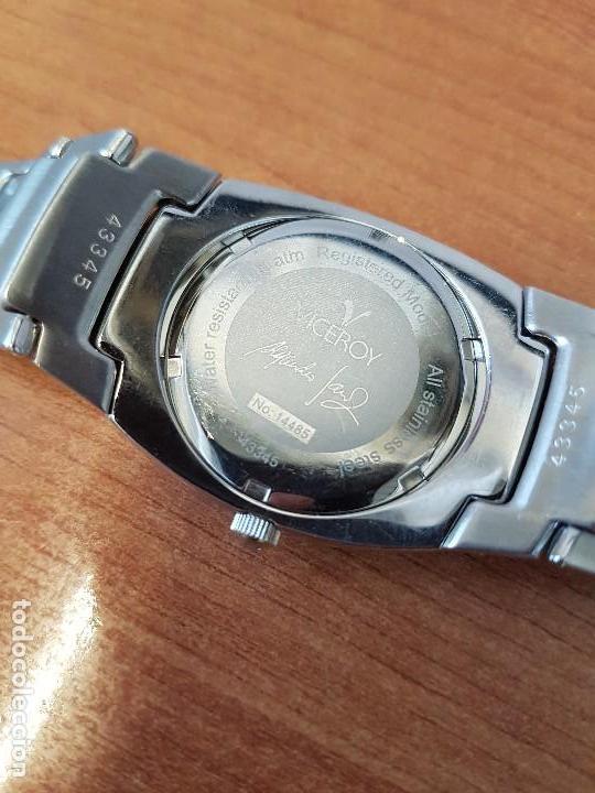 Relojes - Viceroy: Reloj caballero cuarzo Viceroy de acero con calendario a las cuatro, correa original de acero - Foto 15 - 122947887
