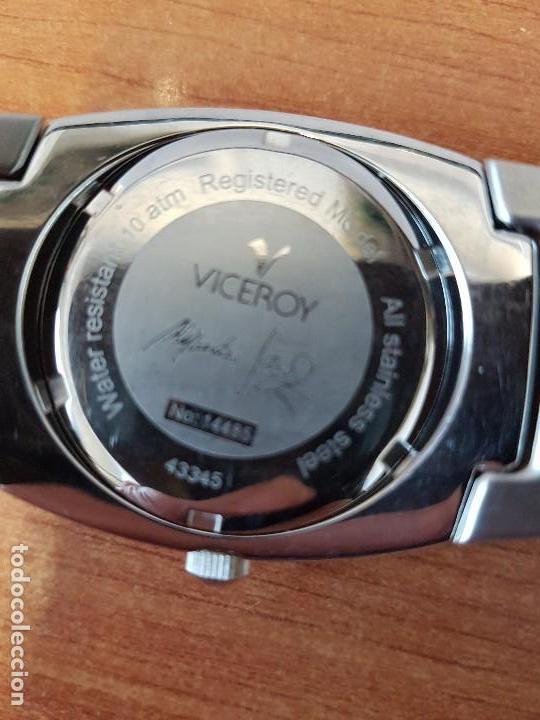 Relojes - Viceroy: Reloj caballero cuarzo Viceroy de acero con calendario a las cuatro, correa original de acero - Foto 17 - 122947887