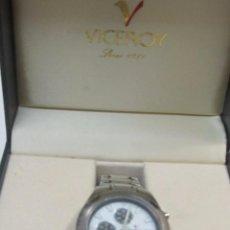 Relojes - Viceroy: RELOJ CRONÓGRAFO VICEROY DE CUARZO, EN SU ESTUCHE. Lote 127850307
