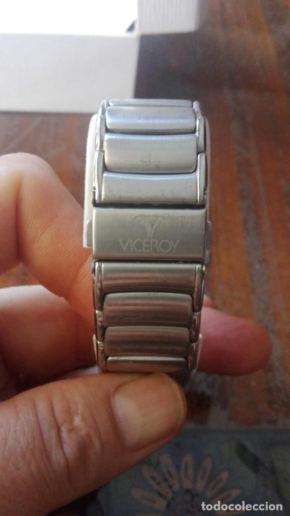 Relojes - Viceroy: RELOJ VICEROY CON CALENDARIO - ALEJANDRO SANZ EDICIÓN NUMERADA Nº 0009. - Foto 5 - 132236370