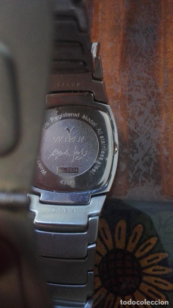 Relojes - Viceroy: RELOJ VICEROY CON CALENDARIO - ALEJANDRO SANZ EDICIÓN NUMERADA Nº 0009. - Foto 6 - 132236370