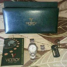 Relojes - Viceroy: RELOJ VICEROY 100 % ORIGINAL NUEVO COMPLETO. Lote 133802954
