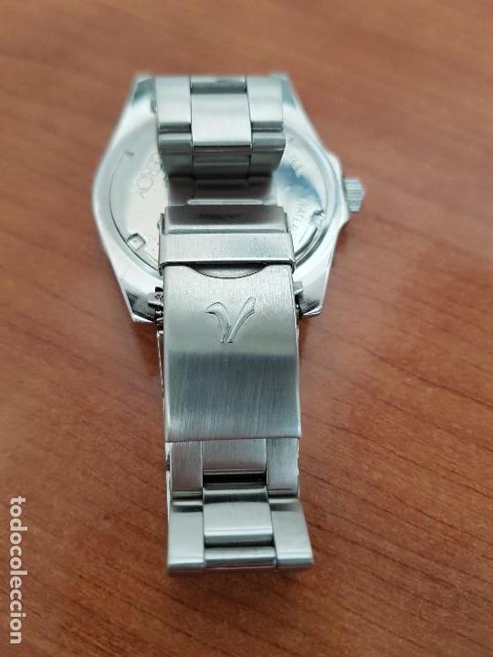 Relojes - Viceroy: Reloj caballero VICEROY de cuarzo con correa de acero original, esfera blanca, bisel giratorio - Foto 13 - 138607466