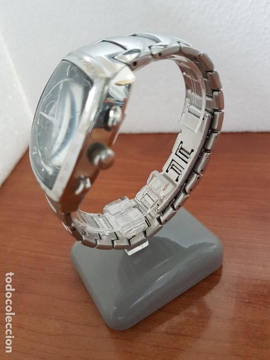 Relojes - Viceroy: Reloj caballero acero VICEROY cronografo cuarzo con calendario a las cuatro, correa acero original - Foto 13 - 138757082
