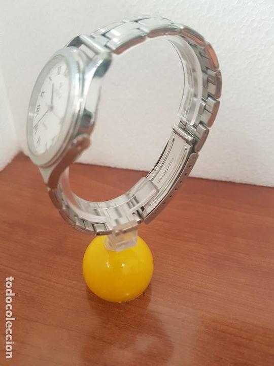 Relojes - Viceroy: Reloj caballero cuarzo Viceroy de acero con calendario a las tres horas, correa acero, cristal bueno - Foto 4 - 143742438