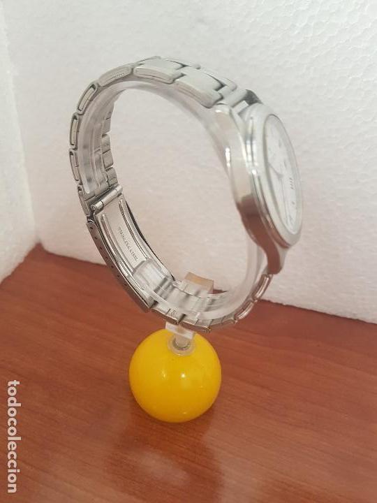 Relojes - Viceroy: Reloj caballero cuarzo Viceroy de acero con calendario a las tres horas, correa acero, cristal bueno - Foto 14 - 143742438