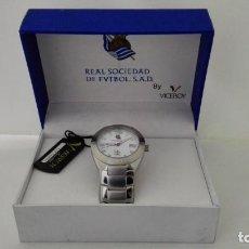 Relojes - Viceroy: RELOJ VICEROY REAL SOCIEDAD DE FVTBOL, ACERO SUMERGIBLE 100M. Lote 145242130