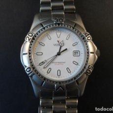 Relojes - Viceroy: RELOJ ARMIS ACERO MATE. VICEROY. WATER RESISTANT 100 MTS. CALENDARIO. QUARTZ. SIGLO XXI. Lote 146266138