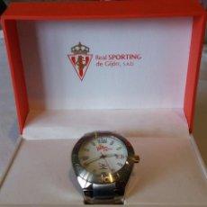 Relojes - Viceroy: RELOJ DEL CENTENARIO DEL SPORTING DE GIJÓN CON CAJA DE MADERA DEL CENTENARIO INCLUIDA.. Lote 146834730