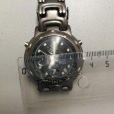 Relojes - Viceroy: RELOJ VICEROY CRONOGRAFO TITANIUM ALARMA 100 M. NO FUNCIONA PARA PIEZAS O RESTAURACION. Lote 147687546