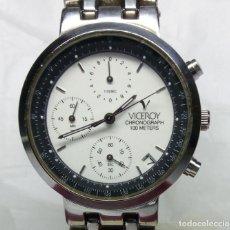Watches - Viceroy - RELOJ VICEROY CRONÓGRAFO, CON SU ESTUCHE - CAJA 35 mm - FUNCIONA (REVISAR CRONÓGRAFO) - 147851290