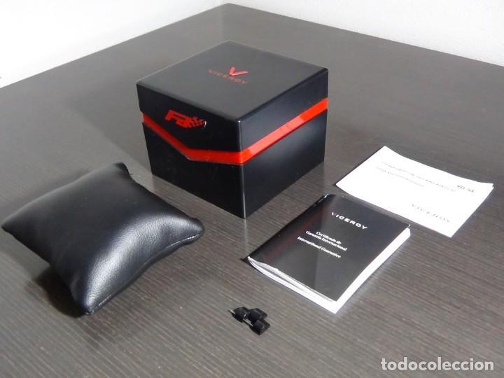 Relojes - Viceroy: Caja, manual y garantía Viceroy colección Fernando Alonso modelo VD-54 - Foto 3 - 159897418