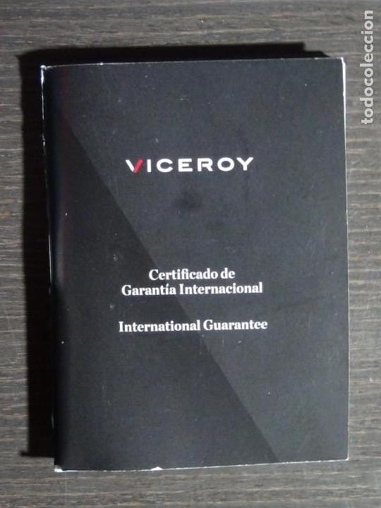 Relojes - Viceroy: Caja, manual y garantía Viceroy colección Fernando Alonso modelo VD-54 - Foto 4 - 159897418