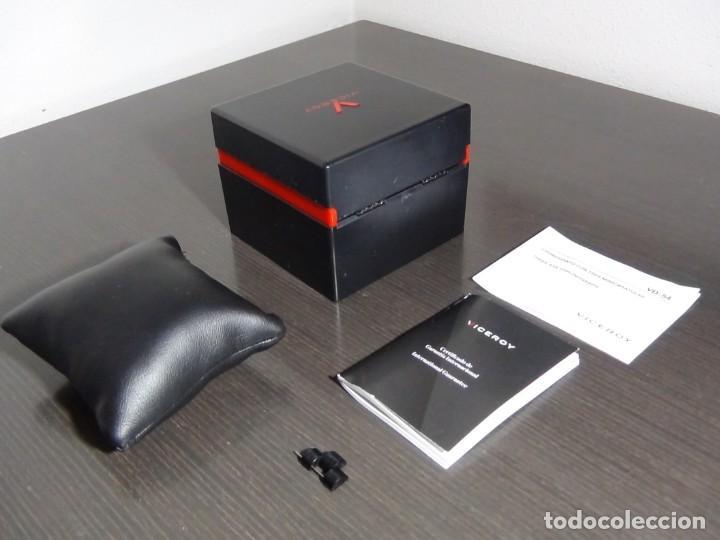 Relojes - Viceroy: Caja, manual y garantía Viceroy colección Fernando Alonso modelo VD-54 - Foto 6 - 159897418