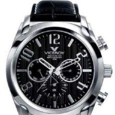 Watches - Viceroy - Reloj Viceroy multifunción en acero con correa de cuero. - 160653330