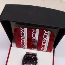 Relojes - Viceroy: RELOJ VICEROY QUARTZ CHRONOGRAPH ACERO NEGRO. Lote 165500238